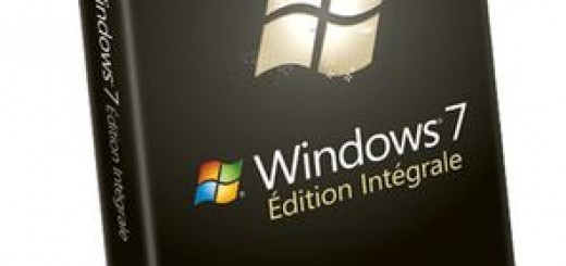 La boite de Windows 7 Edition Integrale