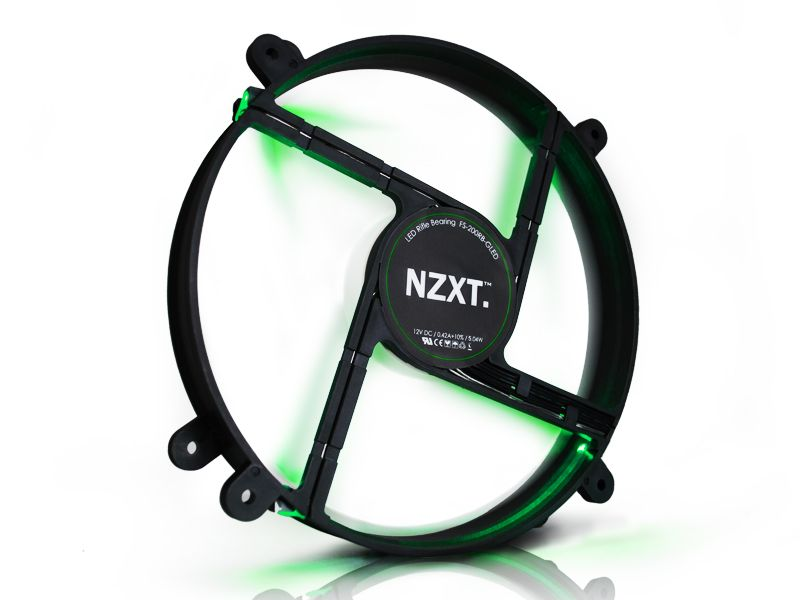 NZXT FS 200 LED : un ventilateur coloré