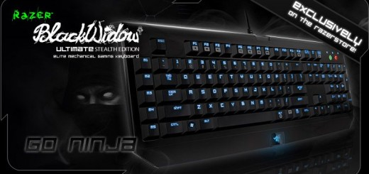 clavier Gamer Razer BlackWidow Ultimate Stealth Edition