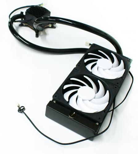 Swiftech H220 : nouvelle pompe maison pour un kit watercooling extensible #3