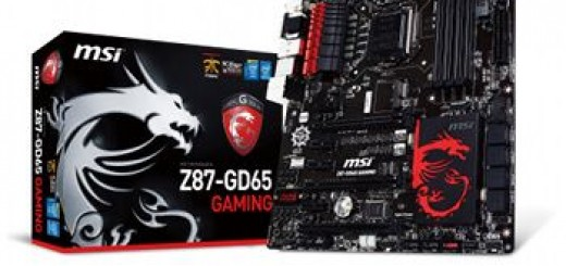 carte mère MSI Z87 GD65 Gaming