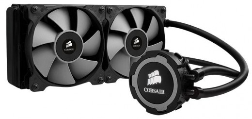 Test Corsair Hydro Series H105